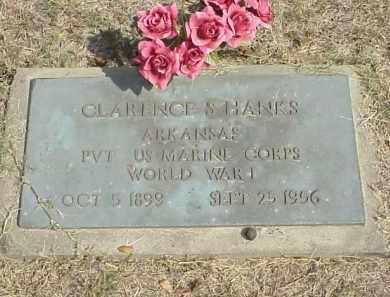 HANKS  (VETERAN WWI), CLARENCE SHELBY - Izard County, Arkansas   CLARENCE SHELBY HANKS  (VETERAN WWI) - Arkansas Gravestone Photos