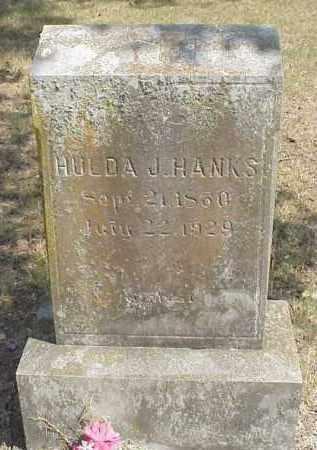 "HANKS, HULDA JANE ""JENNIE"" - Izard County, Arkansas | HULDA JANE ""JENNIE"" HANKS - Arkansas Gravestone Photos"