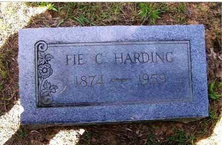 HARDING, FIE C. - Izard County, Arkansas   FIE C. HARDING - Arkansas Gravestone Photos