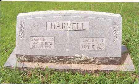 HARVELL, LAURA J. - Izard County, Arkansas | LAURA J. HARVELL - Arkansas Gravestone Photos