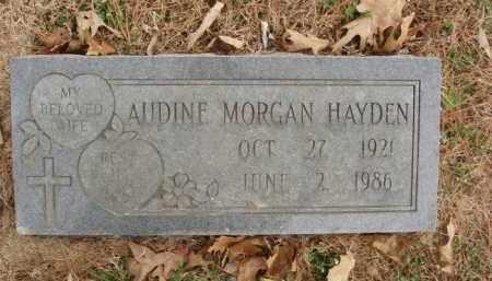 HAYDEN, AUDINE MORGAN - Izard County, Arkansas | AUDINE MORGAN HAYDEN - Arkansas Gravestone Photos