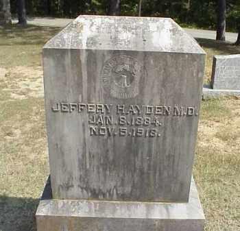 HAYDEN, JEFFERY AUDLEY - Izard County, Arkansas   JEFFERY AUDLEY HAYDEN - Arkansas Gravestone Photos