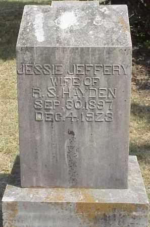 HAYDEN, JESSIE - Izard County, Arkansas | JESSIE HAYDEN - Arkansas Gravestone Photos