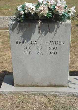 HAYDEN, REBECCA JANE - Izard County, Arkansas | REBECCA JANE HAYDEN - Arkansas Gravestone Photos