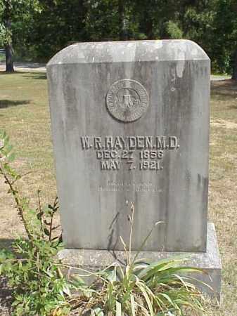 HAYDEN MD, WILLIAM RANSOM - Izard County, Arkansas | WILLIAM RANSOM HAYDEN MD - Arkansas Gravestone Photos