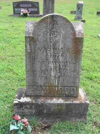 MILLER HAYWOOD, MARTHA ANN - Izard County, Arkansas | MARTHA ANN MILLER HAYWOOD - Arkansas Gravestone Photos