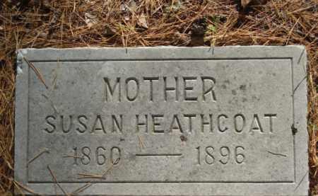 HEATHCOAT, SUSAN - Izard County, Arkansas | SUSAN HEATHCOAT - Arkansas Gravestone Photos