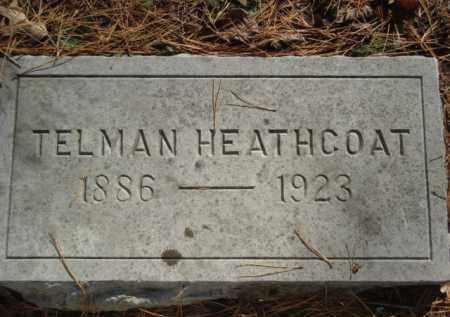 HEATHCOAT, TELMAN - Izard County, Arkansas | TELMAN HEATHCOAT - Arkansas Gravestone Photos