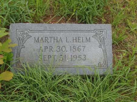 SPENCE HELM, MARTHA TENNESSEE LEE - Izard County, Arkansas | MARTHA TENNESSEE LEE SPENCE HELM - Arkansas Gravestone Photos