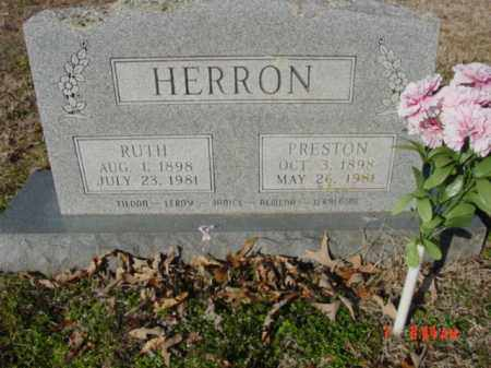 BILLINGSLEY HERRON, PEARL RUTH - Izard County, Arkansas | PEARL RUTH BILLINGSLEY HERRON - Arkansas Gravestone Photos