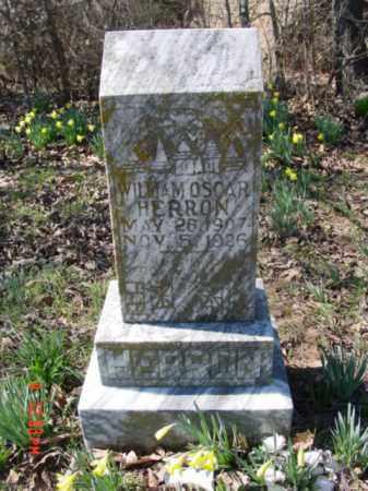 HERRON, WILLIAM OSCAR - Izard County, Arkansas | WILLIAM OSCAR HERRON - Arkansas Gravestone Photos