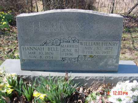 CASEY HERRON, HANNAH BELL - Izard County, Arkansas | HANNAH BELL CASEY HERRON - Arkansas Gravestone Photos