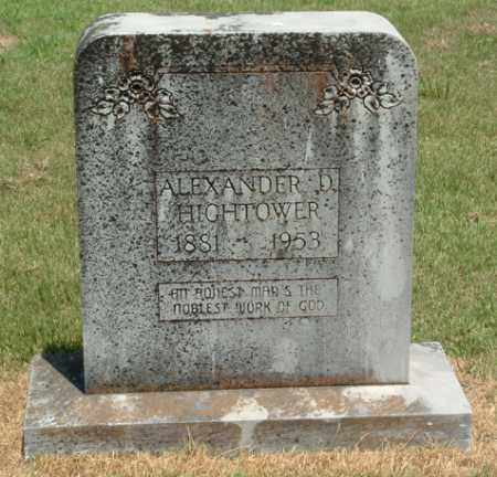 HIGHTOWER, ALEXANDER DOWNEY - Izard County, Arkansas   ALEXANDER DOWNEY HIGHTOWER - Arkansas Gravestone Photos