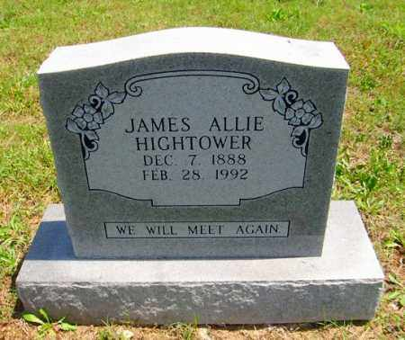 HIGHTOWER, JAMES ALLIE - Izard County, Arkansas | JAMES ALLIE HIGHTOWER - Arkansas Gravestone Photos
