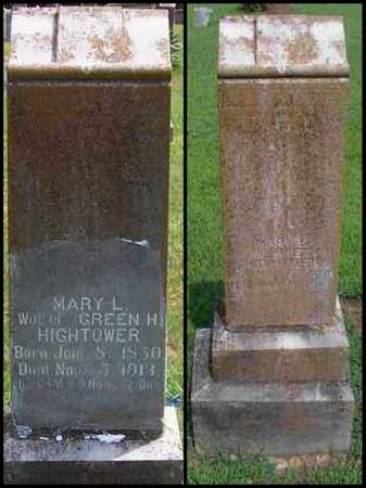 BATTLES HIGHTOWER, MARY LEGUNIA - Izard County, Arkansas | MARY LEGUNIA BATTLES HIGHTOWER - Arkansas Gravestone Photos