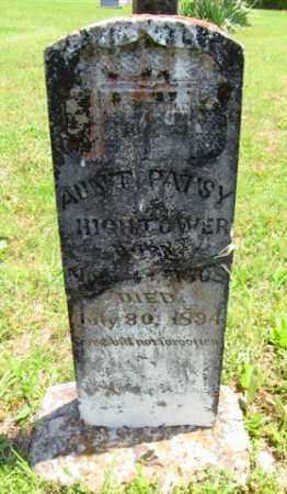 "DOWNEY HIGHTOWER, MARTHA F ""AUNT PATSY"" - Izard County, Arkansas | MARTHA F ""AUNT PATSY"" DOWNEY HIGHTOWER - Arkansas Gravestone Photos"
