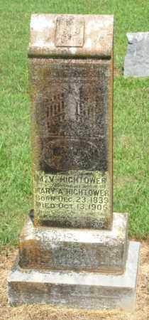 HIGHTOWER, MARTIN VAN BUREN - Izard County, Arkansas | MARTIN VAN BUREN HIGHTOWER - Arkansas Gravestone Photos