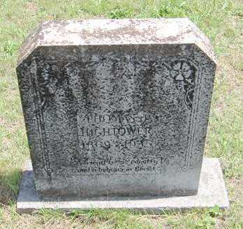 HIGHTOWER, THOMAS JACKSON - Izard County, Arkansas   THOMAS JACKSON HIGHTOWER - Arkansas Gravestone Photos