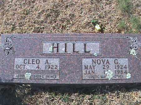 HILL, CLEO A. - Izard County, Arkansas | CLEO A. HILL - Arkansas Gravestone Photos