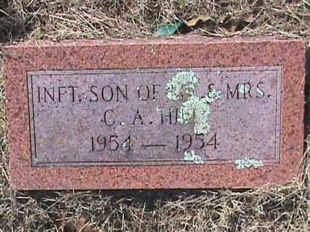HILL, INFANT SON - Izard County, Arkansas   INFANT SON HILL - Arkansas Gravestone Photos