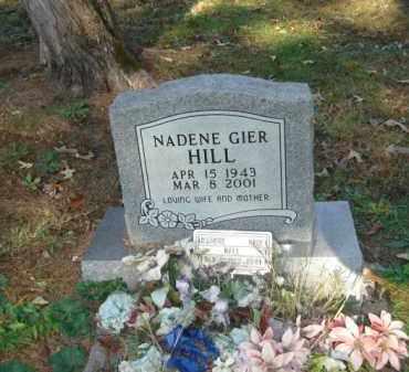 GIER HILL, NADENE - Izard County, Arkansas | NADENE GIER HILL - Arkansas Gravestone Photos