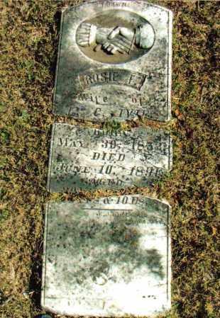 "IVIE, ROSA FRANCES ""ROSIE"" - Izard County, Arkansas | ROSA FRANCES ""ROSIE"" IVIE - Arkansas Gravestone Photos"
