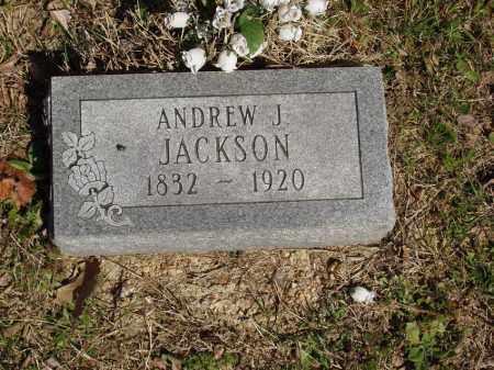 JACKSON, ANDREW J - Izard County, Arkansas   ANDREW J JACKSON - Arkansas Gravestone Photos