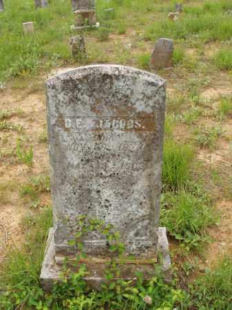 JACOBS, D EDWARD - Izard County, Arkansas | D EDWARD JACOBS - Arkansas Gravestone Photos