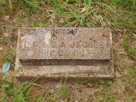 JACOBS, INFANT SON - Izard County, Arkansas   INFANT SON JACOBS - Arkansas Gravestone Photos