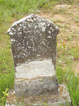 JACOBS, JEFF HOMER - Izard County, Arkansas | JEFF HOMER JACOBS - Arkansas Gravestone Photos