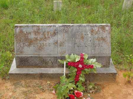 JACOBS, LAWRENCE F - Izard County, Arkansas | LAWRENCE F JACOBS - Arkansas Gravestone Photos