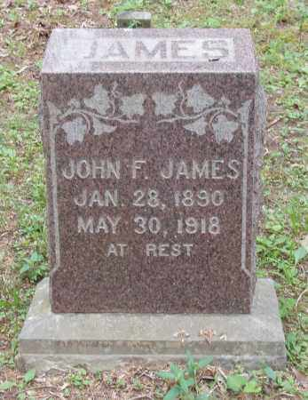 JAMES, JOHN F - Izard County, Arkansas | JOHN F JAMES - Arkansas Gravestone Photos