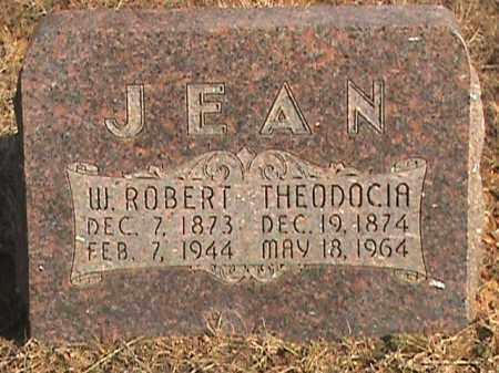 JEAN, W. ROBERT - Izard County, Arkansas | W. ROBERT JEAN - Arkansas Gravestone Photos