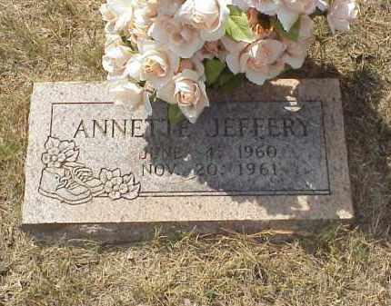 JEFFERY, ANNETTE JANE - Izard County, Arkansas | ANNETTE JANE JEFFERY - Arkansas Gravestone Photos