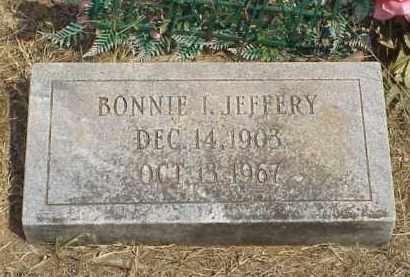 WALSTROM JEFFERY, BONNIE IRENE - Izard County, Arkansas | BONNIE IRENE WALSTROM JEFFERY - Arkansas Gravestone Photos