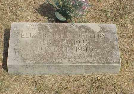 JEFFERY, ELIZABETH C. - Izard County, Arkansas | ELIZABETH C. JEFFERY - Arkansas Gravestone Photos