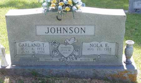 JOHNSON, GARLAND T - Izard County, Arkansas   GARLAND T JOHNSON - Arkansas Gravestone Photos