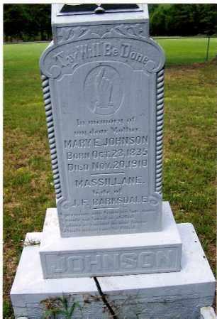 WINTERS JOHNSON, MARY E. - Izard County, Arkansas | MARY E. WINTERS JOHNSON - Arkansas Gravestone Photos