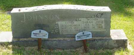 JOHNSON, SARAH JANE - Izard County, Arkansas | SARAH JANE JOHNSON - Arkansas Gravestone Photos