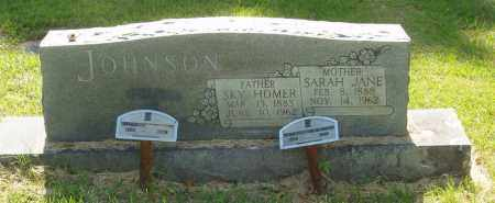 JOHNSON, SKY HOMER - Izard County, Arkansas | SKY HOMER JOHNSON - Arkansas Gravestone Photos