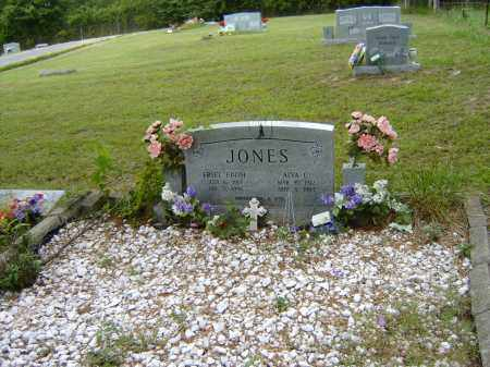 JONES, ALVA CLARENCE - Izard County, Arkansas | ALVA CLARENCE JONES - Arkansas Gravestone Photos
