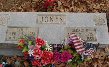 JONES, GERALD H - Izard County, Arkansas | GERALD H JONES - Arkansas Gravestone Photos