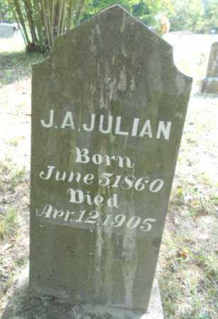JULIAN, JOHN ACKERS - Izard County, Arkansas | JOHN ACKERS JULIAN - Arkansas Gravestone Photos