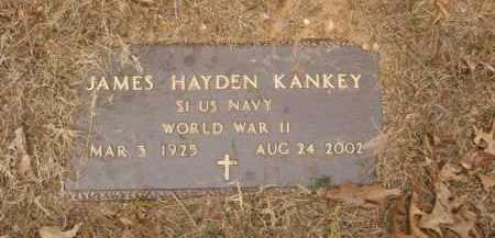KANKEY  (VETERAN WWII), JAMES HAYDEN - Izard County, Arkansas   JAMES HAYDEN KANKEY  (VETERAN WWII) - Arkansas Gravestone Photos