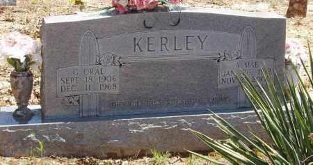 KERLEY, A. MAE - Izard County, Arkansas | A. MAE KERLEY - Arkansas Gravestone Photos