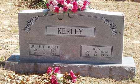 GIST KERLEY, JULIE E - Izard County, Arkansas | JULIE E GIST KERLEY - Arkansas Gravestone Photos