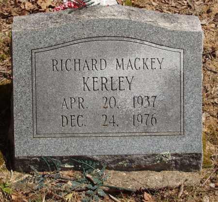 KERLEY, RICHARD MACKEY - Izard County, Arkansas   RICHARD MACKEY KERLEY - Arkansas Gravestone Photos
