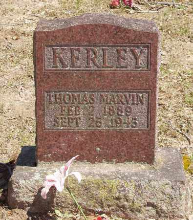 KERLEY, THOMAS MARVIN - Izard County, Arkansas   THOMAS MARVIN KERLEY - Arkansas Gravestone Photos