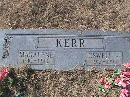 KERR, MAGALENE - Izard County, Arkansas | MAGALENE KERR - Arkansas Gravestone Photos