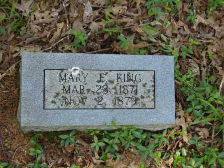 KING, MARY E - Izard County, Arkansas | MARY E KING - Arkansas Gravestone Photos